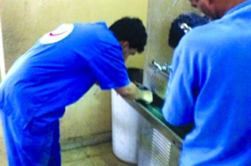 برادات المياه تهدد منسوبي المدارس بحمى الضنك