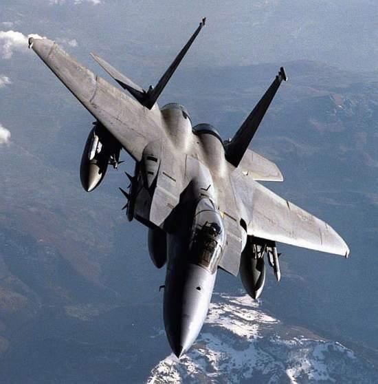 وزارة الدفاع : التحقيق في تحطم طائرة من نوع F15