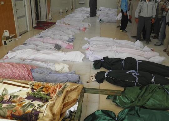 مجزرة جديدة في «ريف حماة» راح ضحيتها 87 من سكان قريتين