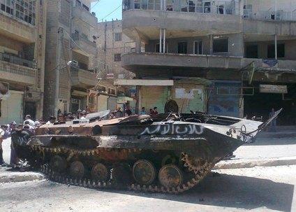 المعارضة السورية تحث على تصعيد الهجمات العسكرية في اعقاب مذبحة حماة